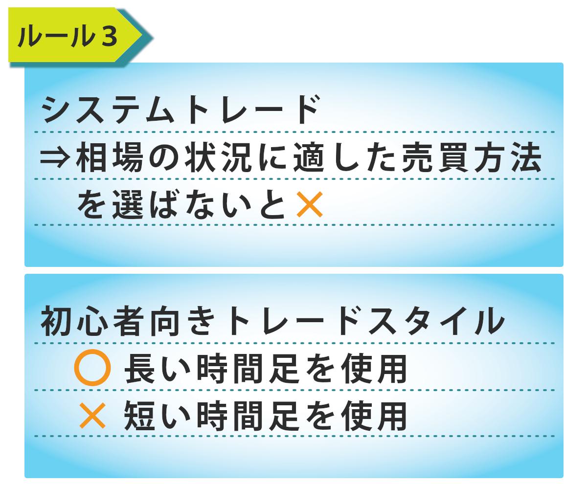 ルール3の表